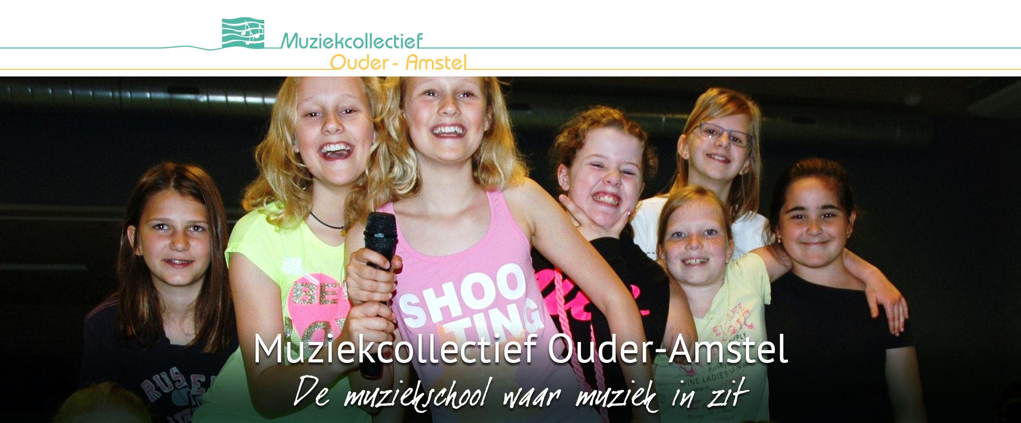 Muziekcollectief Ouder-Amstel, de muziekschool waar muziek in zit