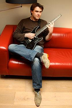 Muziekleraar gitaar Sergio Sinnig Leon