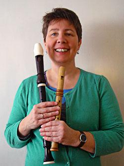 Marianne Hoek docent blokfluit