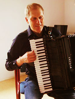 Muziekleraar accordeon Robert Baas