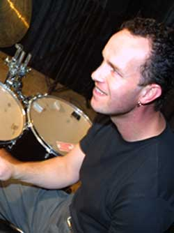Muziekleraar drums Koert Kardol