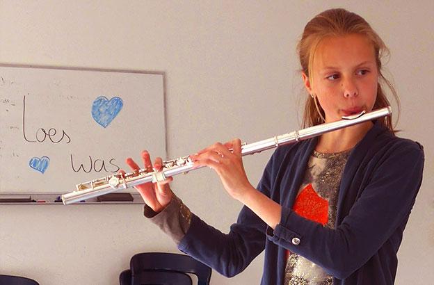 Muziekles bij het Muziekcollectief Ouder-Amstel