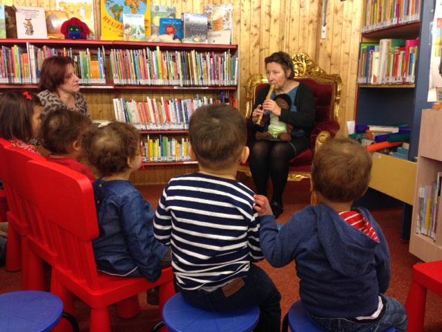 Cultuurcoach in bibliotheek